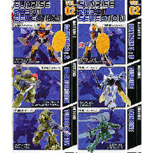 Sunrise Robot Selection Vol. 2 (6종 풀셋트)